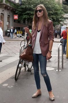 Proof: Olivia Palermo is the Street Style Queen of Pinterest | Slick Urban Cool