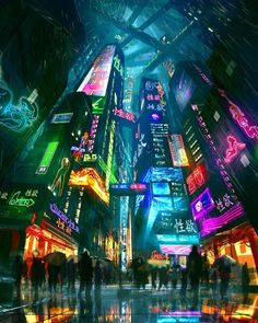 vaporwave city Neon City Lights Digital Art by Pedro Sena From cybervibe Cyberpunk City, Arte Cyberpunk, Ville Cyberpunk, Cyberpunk Aesthetic, Futuristic City, City Aesthetic, Futuristic Architecture, Cyberpunk 2077, Cyberpunk Anime
