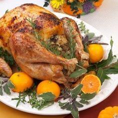 Citrus Infused Roasted Turkey Recipe