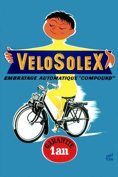 Velosolex - with automatic clutch