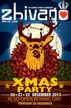 Zhivago #adelaide #nightlife #christmas #xmas #zhivago #placetobe