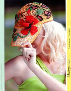 ergahandmade: Crochet Hat + Diagrams + Pattern Step By Step