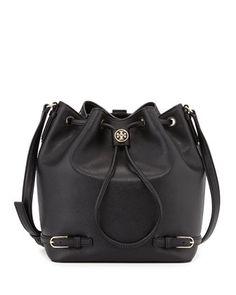 2512baee6be Robinson Leather Bucket Bag, Black at CUSP. Shoulder Strap Bag, Black Shoulder  Bag