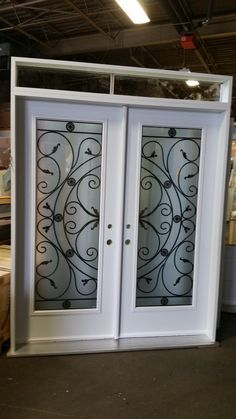 Double Doors with Inserts
