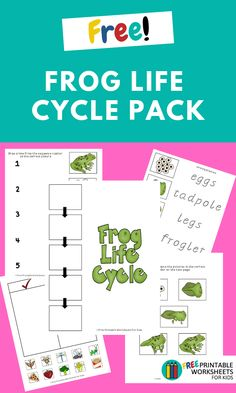letter and sound games frog cycle free printable worksheets for 3 7745