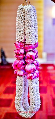 Flower garlands for indian weddings wedding decorations wedding garland flower garland wedding wedding garlands . flower garlands for indian Flower Garland Wedding, Floral Garland, Flower Garlands, Flower Decorations, Wedding Garlands, Wedding Garland Indian, Indian Wedding Flowers, Flower Centerpieces, Wedding Hall Decorations