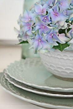 VIBEKE DESIGN: Something Blue... love this color, ♡♔