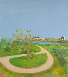 Turnaround 1965 oil on canvas 68 x 60 inches jane freilicher