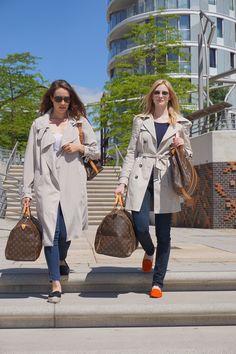 Sommerzeit ist Reisezeit - Louis Vuitton Keepall und Louis Vuitton Sac Flanerie. Vintage Pur <3