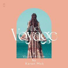 莫文蔚 Voyage Karen Mok, Album, Cover, Artwork, Movie Posters, Chinese, Work Of Art, Auguste Rodin Artwork, Film Poster