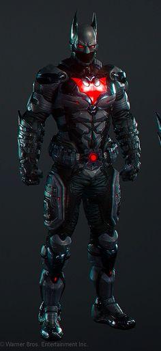 Batman Beyond - Full Armor - Concept Le Joker Batman, Batman Suit, Spiderman, Batman Beyond Suit, Gotham Batman, Batman Robin, Batman Arkham Knight Suit, Batman Arkham Knight Characters, Batman Armor