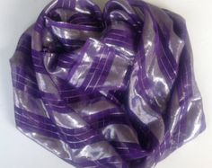 Birthday Gift for Mother in law, Bright Purple silk square shawl, Gift for coworker, Best Friend Gift, Beach cover up, Winter sparkle scarf by blingscarves. Explore more products on http://blingscarves.etsy.com