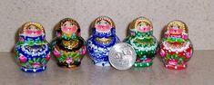Mini Nesting doll 5 pcs 4 cm tall. Last doll  5 mm.... Select