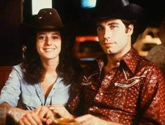 Urban Cowboy Urban Cowboy Movie, An Officer And A Gentleman, Real Cowboys, Richard Gere, John Travolta, Damon Salvatore, Old West, Good Movies, Brown Hair