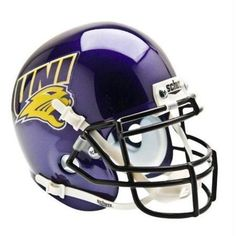 Northern Iowa Panthers Schutt Mini Helmet
