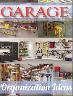 Garage Organization Ideas........