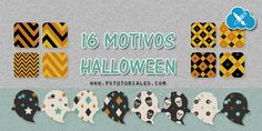 16 motivos para Halloween | PS Tutoriales