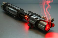 LIGHTSABER star wars PIPE  Yeah, it's a pipe. I'm not sure about it being made of glass or not... But I'm in love