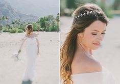 OBSESSED WITH HAIR PIECES!!!  Winifred Bean wedding dress | photos by Fondly Forever | 100 Layer Cake