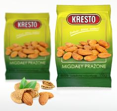 Kresto | Almonds packaging design