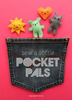 Sew a Softie: Pocket Pals