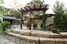 Add something special to your yard with a radius trellis. By Outdoor Signature in Argyle, TX