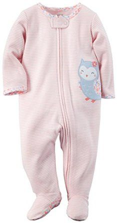 Carter's Newborn Baby Girls' Cotton Zip-Up Sleep & Play Pajamas-Maya months or months) Carters Baby Clothes, Baby Girl Pajamas, Trendy Baby Clothes, Baby Kids Clothes, Carters Baby Girls, Baby Girl Elephant, My Baby Girl, Outfits Niños, Kids Outfits
