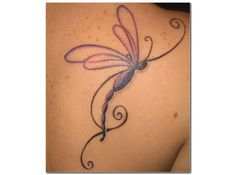 Dragonfly tattoo designs as a symbol of strength - Page 12 of 30