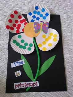 Most current Cost-Free may preschool crafts Ideas This great site has SO MANY Kids crafts which can be appropriate for Preschool in addition to Toddlers. Kids Crafts, Spring Crafts For Kids, Mothers Day Crafts For Kids, Daycare Crafts, Summer Crafts, Toddler Crafts, Easter Crafts, Paper Plate Crafts, Toddler Art