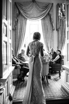 Our gorgeous Brides.   Dress- Augusta Jones