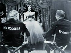 """""""No big deal. It's just Julie Andrews sitting on a throne being the princess she really is while in front of Rodgers and Hammerstein during Cinderella rehearsals.  Not a big deal at all."""""""