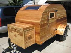 Treehouse trailers... and they're made to order!  Now, where's K's credit card...