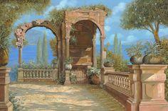 Terrace ruins. Guido Borelli.