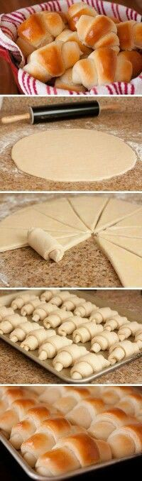 Pizza Croissants