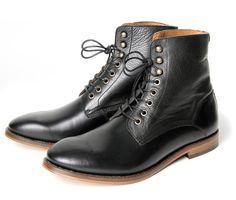 H by Hudson Herman Black boots Shoe Basket, Baskets, Brogues, Loafers, Hudson Shoes, Hudson London, London Shoes, Cool Boots, Shoe Brands