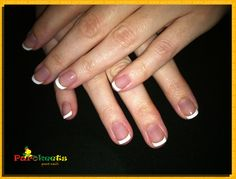 Gel nails french manicure. I am hooked...manicure lasts for 2-3 weeks without any chipping. LOVE!!!