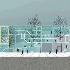 Multifunctional Arts Centre, Animated Section - Irina Mateescu