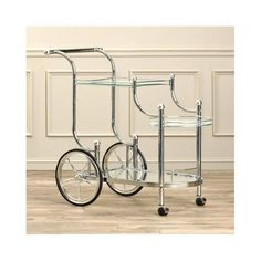 Rolling-Serving-Cart-Kitchen-Bar-Utility-Wine-Tea-Glass-Trolley-Metal-Antique