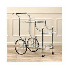 Rolling-Serving-Cart-Kitchen-Bar-Utility-Wine-Tea-Glass-Trolley-Metal-Antique