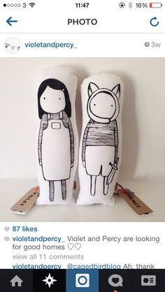 Naked Lunge dolls available from Violetandpercy.com