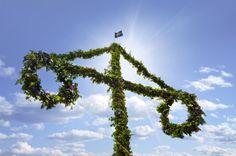 Midsommar, Sweden from Next Week It's Summer! Wild Ways the Solstice Is Celebrated Around the World (Slideshow)