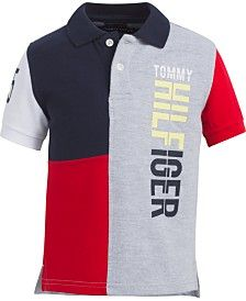 Tommy Hilfiger Baby Boys H Cotton Polo Shirt & Reviews - Shirts & Tees - Kids - Macy's Camisa Polo, Tommy Hilfiger Baby, Preppy Look, Kids Shirts, Polo Shirts, Plus Size Activewear, Dresses With Leggings, Baby Clothes Shops, Baby Boys