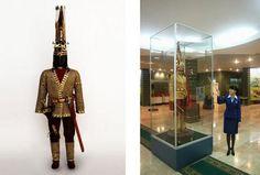 Artifacts adoring Golden Man
