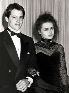 Matthew Broderick & Helena Bonham Carter at the 1987 Oscars