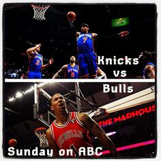 Knicks vs. Bulls 4/8 @ 12PM central, can't wait! D. Rose is back!