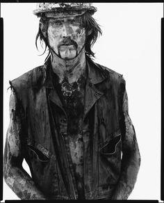 Richard Avedon, Tom Stroud, oil field worker, Velma, Oklahoma, June 12, 1980