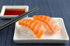 sushi salmon yummmm