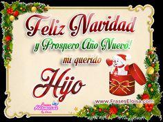 Frases Eloisa: Feliz Navidad y prospero año nuevo mi querid@