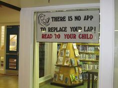 There is no app to replace your lap!   Read to your child!