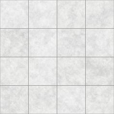 White Tile Floor Texture
